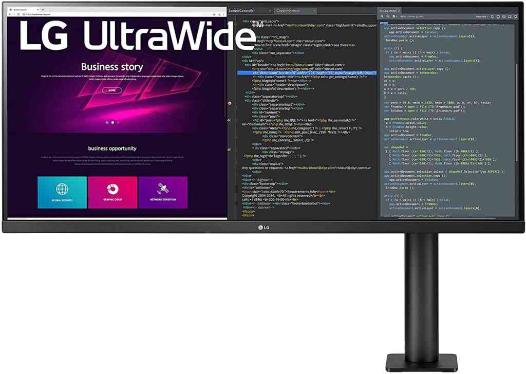 LG Ultra Wide Monitor for home office
